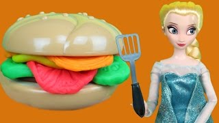Download ELSA's Barbecue ! Elsa and Anna toddlers at BBQ ! Picnic Video