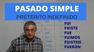 Download Pasado simple en español - Pretérito indefinido Video
