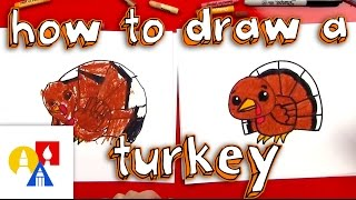 Download How To Draw A Cartoon Turkey Video