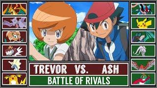 Pokemon Sun and Moon: Ash Vs Ash (Fire Type Vs Water Type) Free