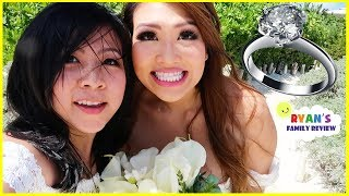 Download Princess T got Married! Wedding Celebration with Ryan's Family Review Video