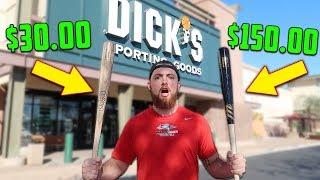 Download $30 BAT vs. $150 BAT! IRL Baseball Challenge Video