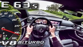 Download Mercedes AMG E63 S 4Matic+ ACCELERATION & TOP SPEED AUTOBAHN POV by AutoTopNL Video