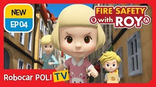Download 🔥Fire safety with Roy   EP04   Never Forget to Turn Off the Gas   Robocar POLI   Kids animation Video