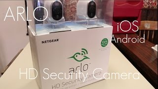 Download Best Consumer Friendly Security Camera? - Netgear Arlo HD Security Camera - In-depth Review Video