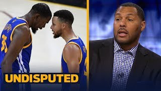 Download Eddie House on who's the most important Warrior: Curry or Durant | NBA | UNDISPUTED Video