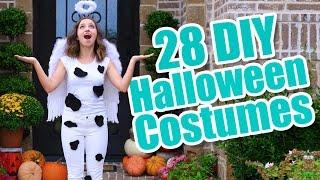 Download 28 Last-Minute Halloween Costume Ideas | DIY Halloween Costumes Video