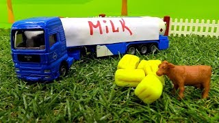 Download Helfer Autos Deutsch. Auf dem Bauernhof. Spielzeugvideo für Kinder. Video