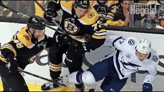 Download Boston Bruins lose ugly game 3 of NHL playoffs to Tampa Bay Video