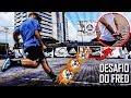 Download Pancada no goleiro com a mão amarrada! - Feat Thiago Ventura Video