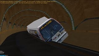 Download OpenBVE HD Troll: Leaning NYC Transit Nova Bus RTS Bus-Train Around IRT City Hall Loop (New Cab) LoL Video