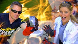 Download 🔥 2,200 DEGREE MELTING iPHONE!! Video