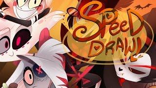 Download SPEED DRAW- Hazbin Halloween- VivziePop Video