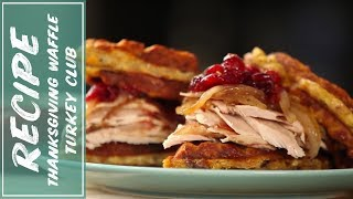 Download Resurrect Your Thanksgiving Leftovers | Recipe for Clubhouse Turkey Dip Sandwich | Fidel Gastro Video