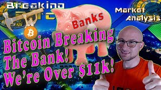Download Bitcoin Breaks The Bank As We Ascend Past $11k! Options Contracts and Cryptocurrency IRAs For Sale! Video