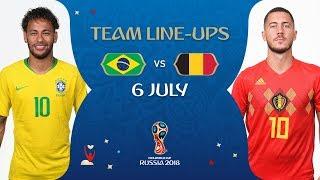 Download LINEUPS – BRAZIL V BELGIUM - MATCH 58 @ 2018 FIFA World Cup™ Video