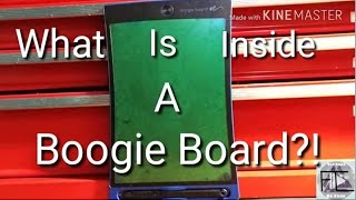 Download What's Inside? How does a Boogie Board Work?! Video