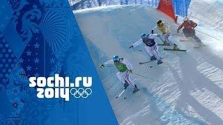 Download France Dominate The Men's Ski Cross Medals | Sochi 2014 Winter Olympics Video