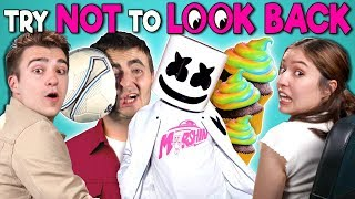 Download Adults React To Try Not To Look Back Challenge Video