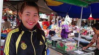 Download Cambodia || Stung Treng Market Video