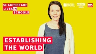 Download How to teach Shakespeare: establishing the world of the play Video