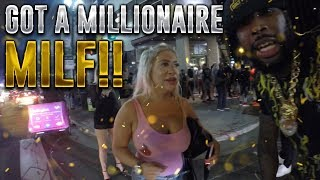 Download King of DOWNTOWN: LEFT WITH A MILLIONAIRE MILF!!! Video