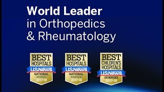 Download Hospital for Special Surgery: #1 in Orthopedics & #3 in Rheumatology Video