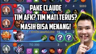 Download PAKE CLAUDE. TIM AFK? TIM MATI TERUS? BISA MENANG!! Video