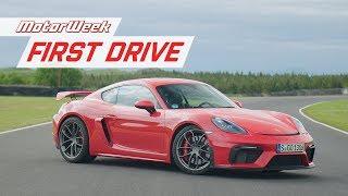 Download 2020 Porsche 718 Cayman GT4 and Boxster Spyder | MotorWeek First Drive Video