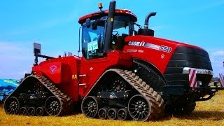 Download MEGA Tractor Case Quadtrac 600 HP and more in Farmet company Working demonstration Video
