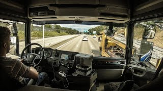 Download CV Driving Scania S520 - Back to work (Stockholm, Sweden) Video