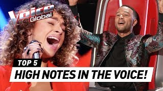Download OUTSTANDING HIGH NOTES in The Voice Video