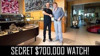 Download Yosi Dina's secret $700,000 watch! Video
