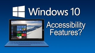 Download Windows 10 Accessibility Features - The Blind Life Video