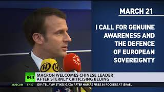 Download EU-turn: China makes multi-billion-dollar deals with France, even after Macron's criticism Video