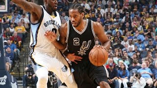 Download Kawhi Leonard Scores Playoff Career-High 43 in Game 4 | April 22, 2017 Video