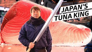 Download The Tuna King Reigns at Tsukiji Fish Market — Omakase Japan Video