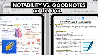 Download NOTABILITY VS. GOODNOTES ON THE IPAD ✍🏻 (+ GIVEAWAY!) ♡ Video