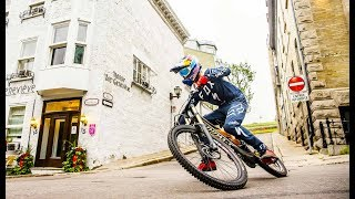 Download Purest and Rawest Urban MTB Line of the Day | w/ Finn Iles in 4K Video
