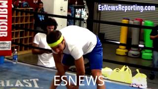 Download Inside Look At VASYL LOMACHENKO Training Camp - esnews boxing Video