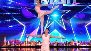 Download Gao Lin & Liu Xin STUNS Everyone With Their Acrobatics | Week 2 | Britain's Got Talent 2017 Video