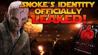 Download Snoke's Identity Officially LEAKED! (MAJOR LAST JEDI SPOILERS) Video