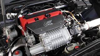 Download 300 WHP Supercharged Acura TSX Engine Overview Video