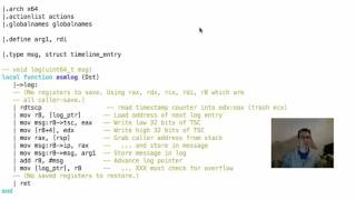 Download Snabb: Quick look at LuaJIT FFI and DynASM assembler Video