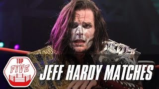 Download Jeff Hardy's Top 5 TNA Matches | Fight Network Flashback Video