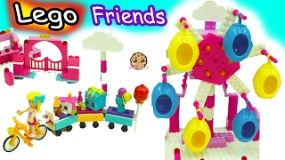 Download Lego Friends Party Train Ride with Season 7 Shopkins + Ride in Ferris Wheel Eggs Video