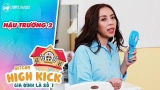 Download Gia đình là số 1 sitcom   hậu trường 2: Thu Trang cười ″té ghế″ khi cãi nhau với em chồng Video