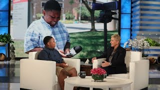 Download Ellen Meets Incredible Kid Reporter Jaden Jefferson Video