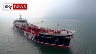 Download British-operated oil tankers seized by Iran Video