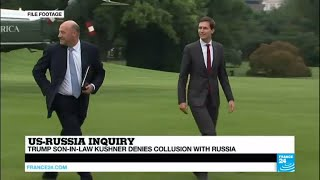 Download US - Trump's Son-in-Law Jared Kushner faces grilling, says ″he did not collude″ with Russia Video